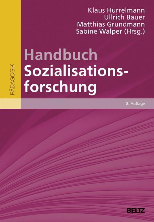Handbuch Sozialisationsforschung cover