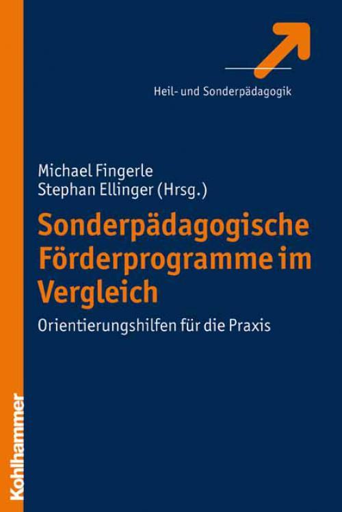 Sonderpädagogische Förderprogramme im Vergleich cover
