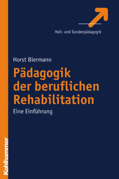 Pädagogik der beruflichen Rehabilitation cover