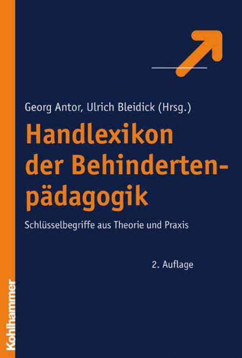 Handlexikon der Behindertenpädagogik cover