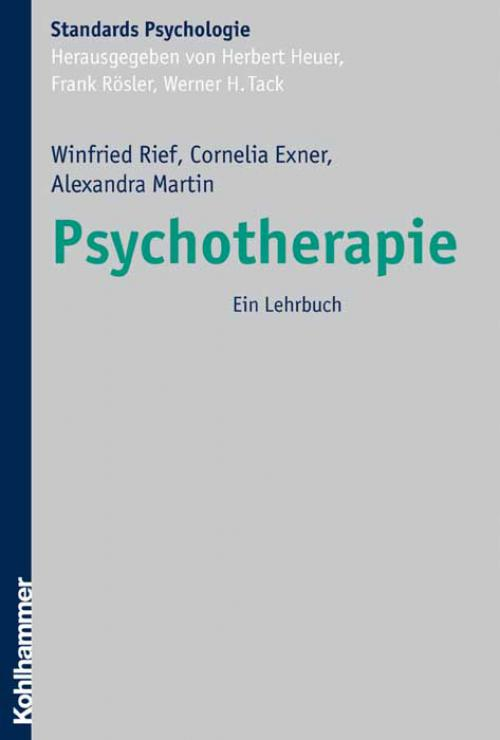 Psychotherapie cover