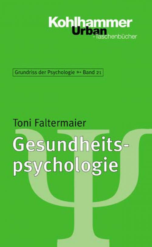 Gesundheitspsychologie cover