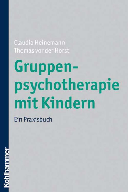 Gruppenpsychotherapie mit Kindern cover