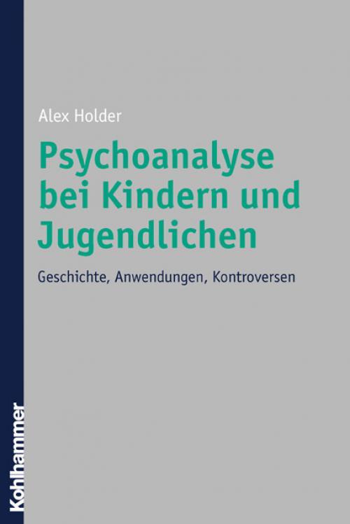 Psychoanalyse bei Kindern und Jugendlichen cover