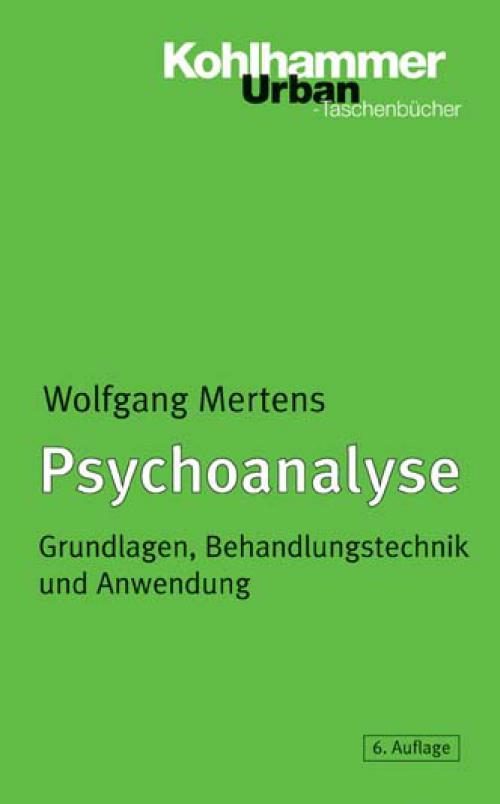 Psychoanalyse cover