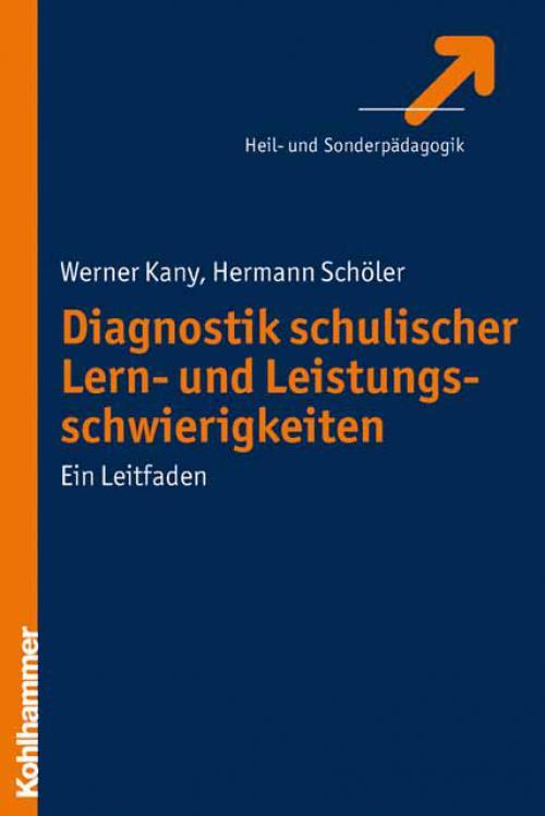 Diagnostik schulischer Lern- und Leistungsschwierigkeiten cover