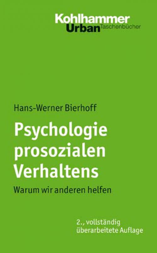 Psychologie prosozialen Verhaltens cover