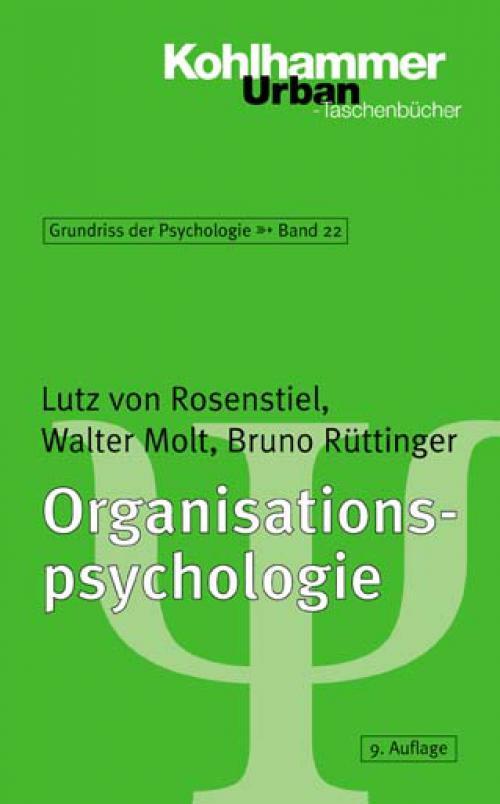 Organisationspsychologie cover