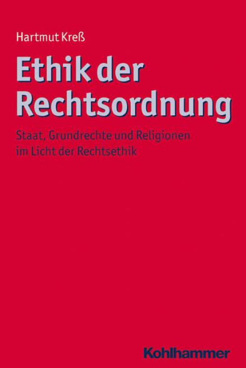 Ethik der Rechtsordnung cover