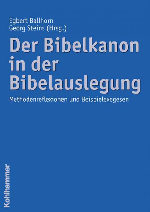 Der Bibelkanon in der Bibelauslegung cover