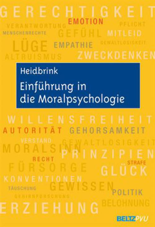 Einführung in die Moralpsychologie cover