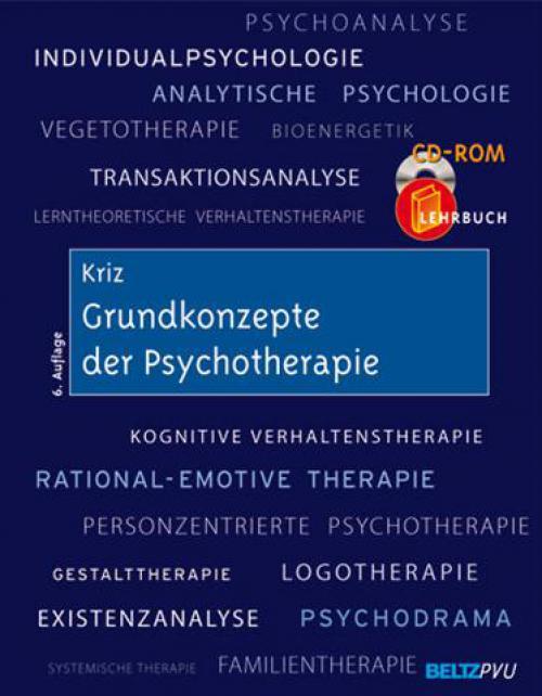 Grundkonzepte der Psychotherapie cover