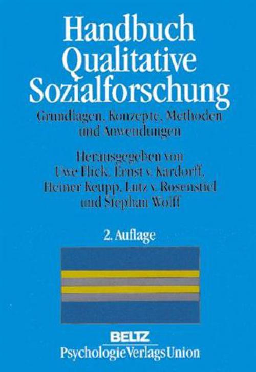 Handbuch Qualitative Sozialforschung cover