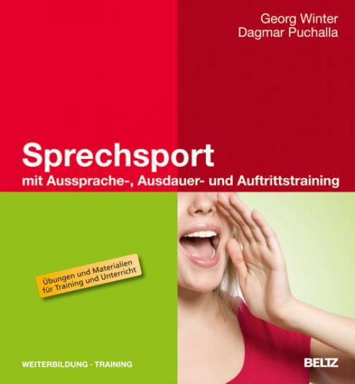 Sprechsport mit Aussprache-, Ausdauer- und Auftrittstraining cover