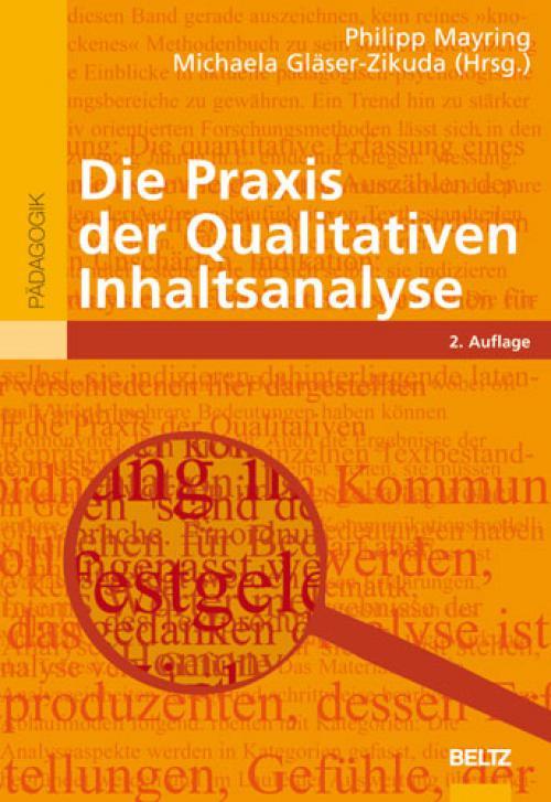 Die Praxis der Qualitativen Inhaltsanalyse cover