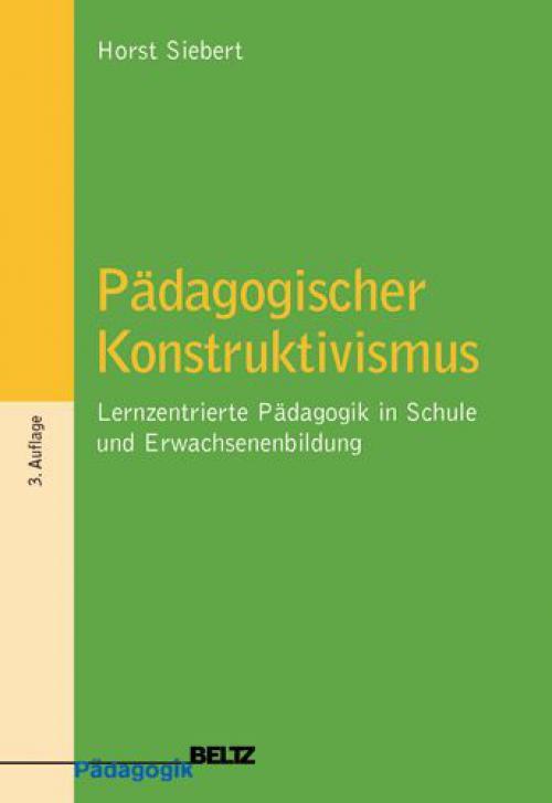 Pädagogischer Konstruktivismus cover
