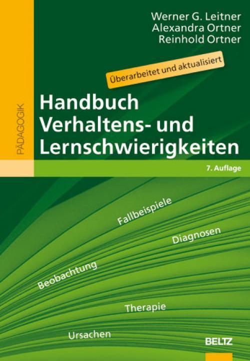 Handbuch Verhaltens- und Lernschwierigkeiten cover