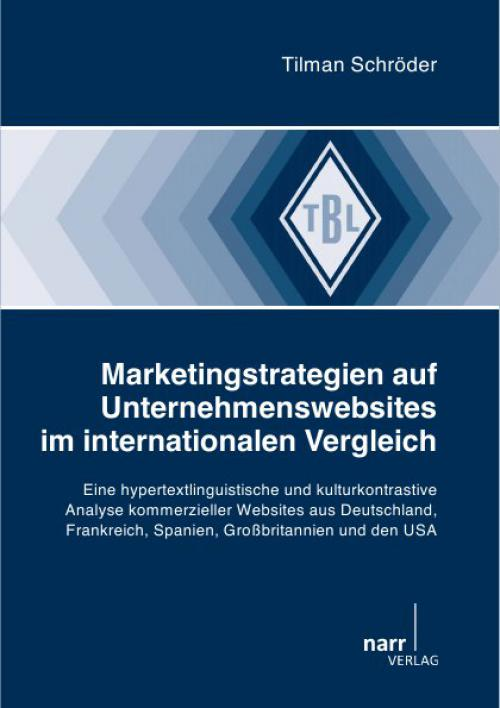 Marketingstrategien auf Unternehmenswebsites im internationalen Vergleich cover