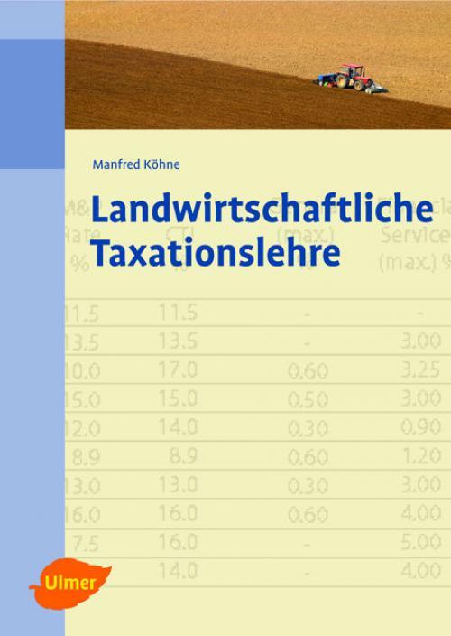 Landwirtschaftliche Taxationslehre cover