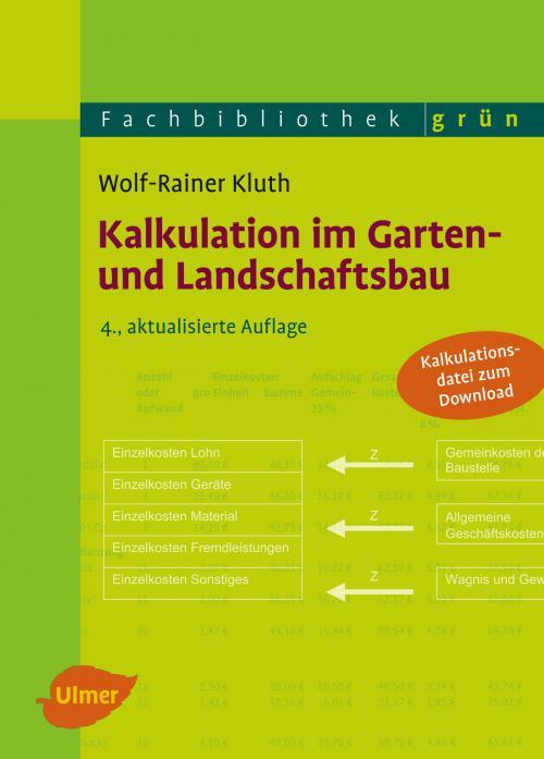 Kalkulation im Garten- und Landschaftsbau cover