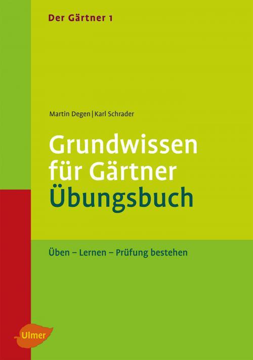 Der Gärtner 1. Grundwissen für Gärtner. Übungsbuch cover