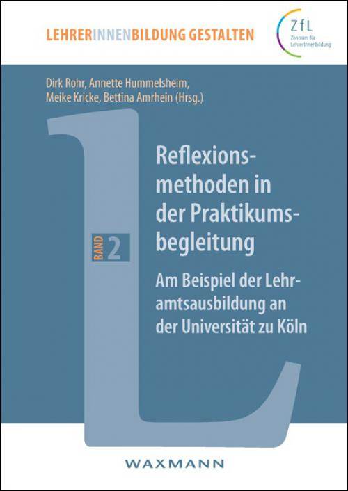 Reflexionsmethoden in der Praktikumsbegleitung cover