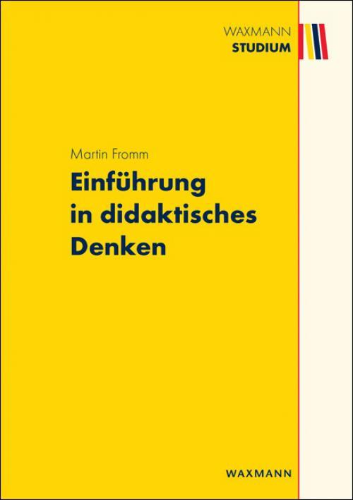 Einführung in didaktisches Denken cover
