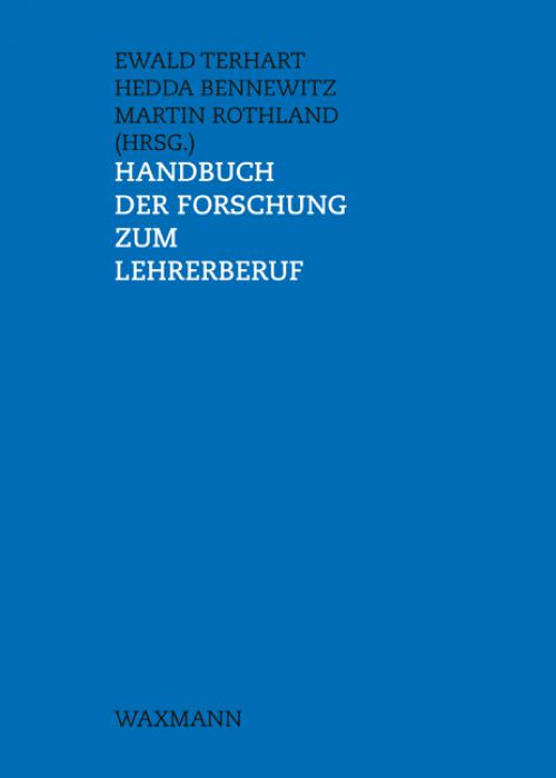 Handbuch der Forschung zum Lehrerberuf cover