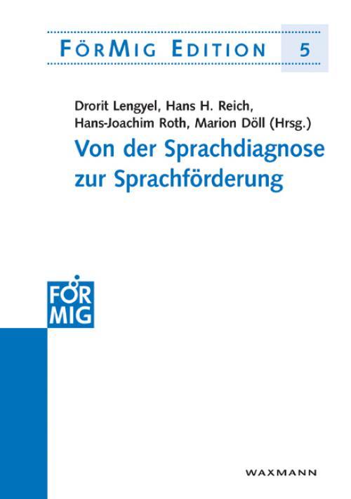 Von der Sprachdiagnose zur Sprachförderung cover