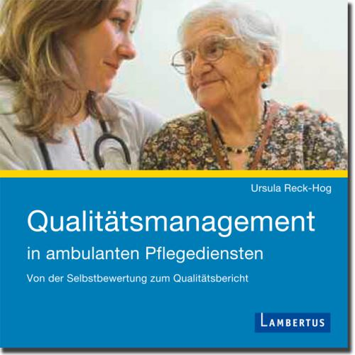 Qualitätsmanagement in ambulanten Pflegediensten cover