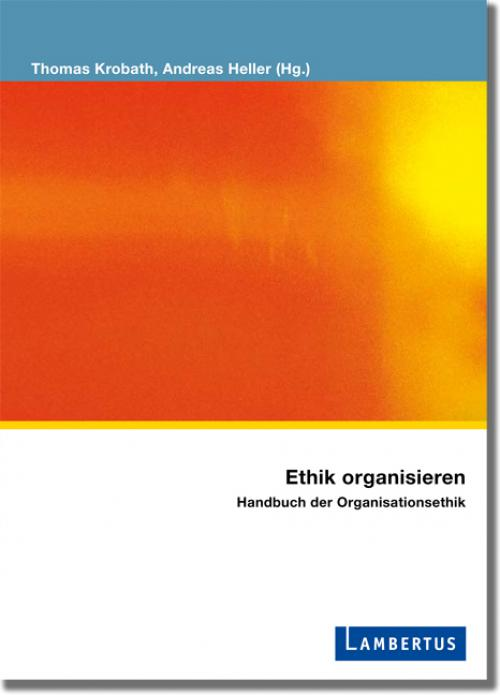 Ethik organisieren cover