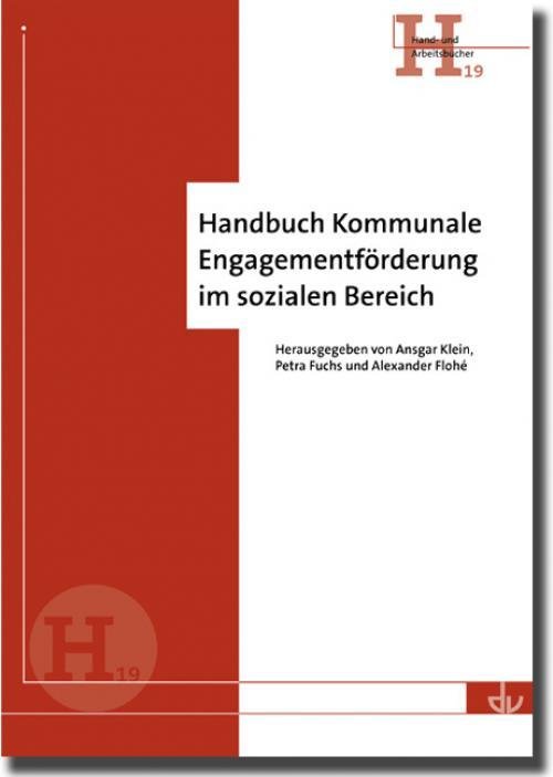 Handbuch Kommunale Engagementförderung im sozialen Bereich cover