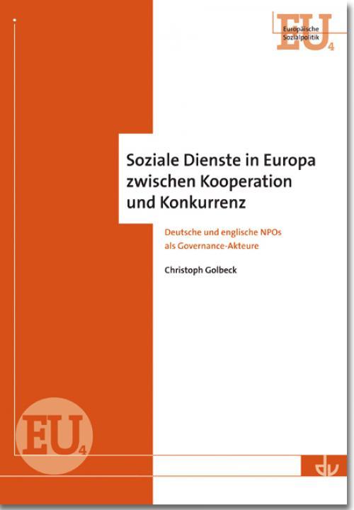 Soziale Dienste in Europa zwischen Kooperation und Konkurrenz cover