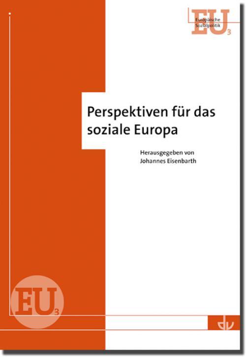 Perspektiven für das soziale Europa cover
