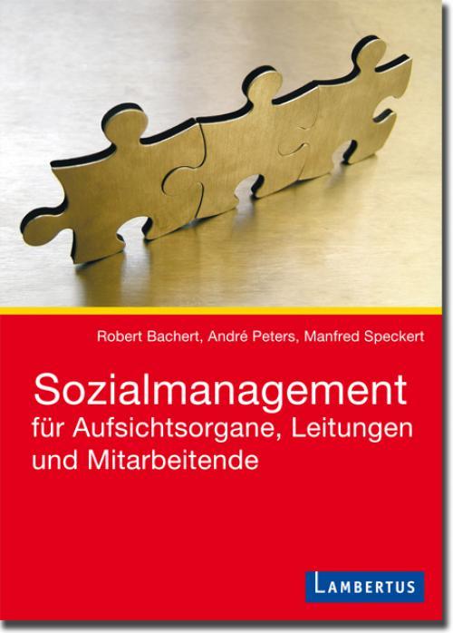 Sozialmanagement für Aufsichtsorgane, Leitungen und Mitarbeitende cover