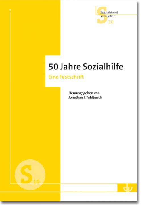 50 Jahre Sozialhilfe cover