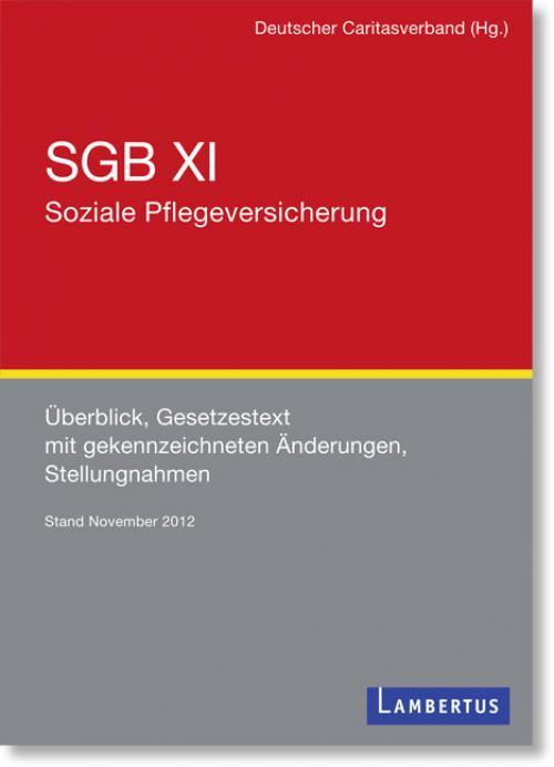 SGB XI - Soziale Pflegeversicherung cover