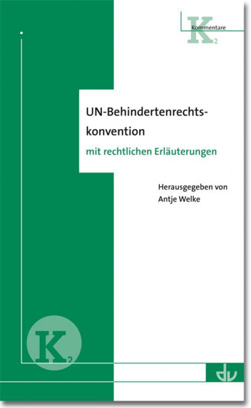 UN-Behindertenrechtskonvention cover