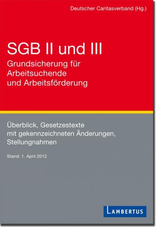 SGB II und III - Grundsicherung für Arbeitsuchende und Arbeitsförderung cover