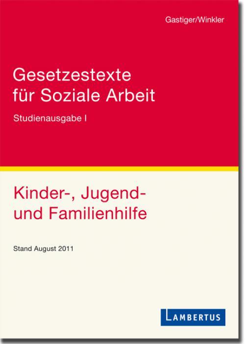 Gesetzestexte für Soziale Arbeit cover