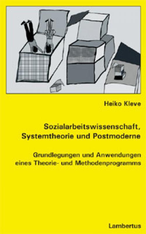 Sozialarbeitswissenschaft, Systemtheorie und Postmoderne cover