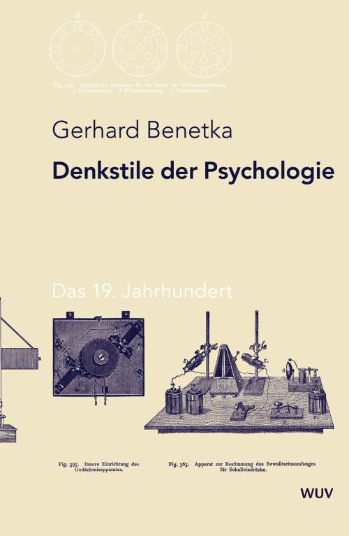 Denkstile der Psychologie cover