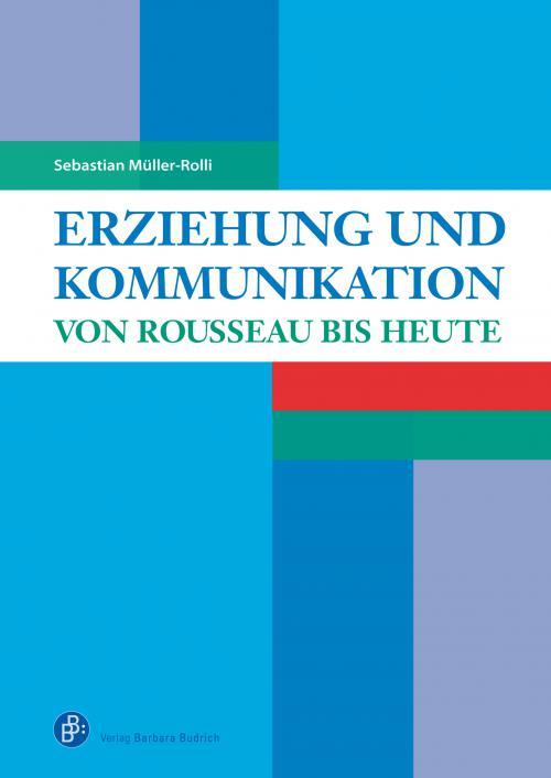 Erziehung und Kommunikation cover