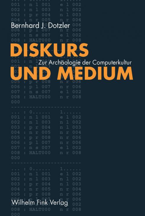Diskurs und Medium I cover