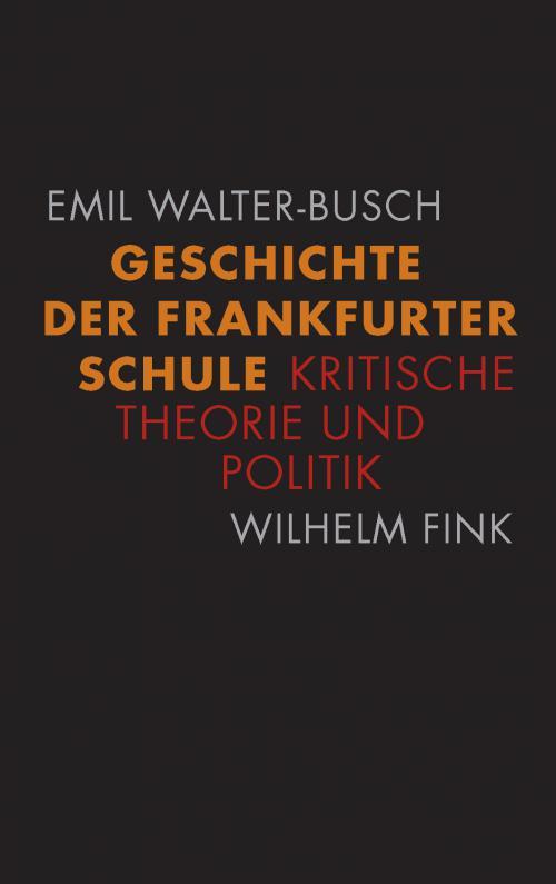 Geschichte der Frankfurter Schule cover