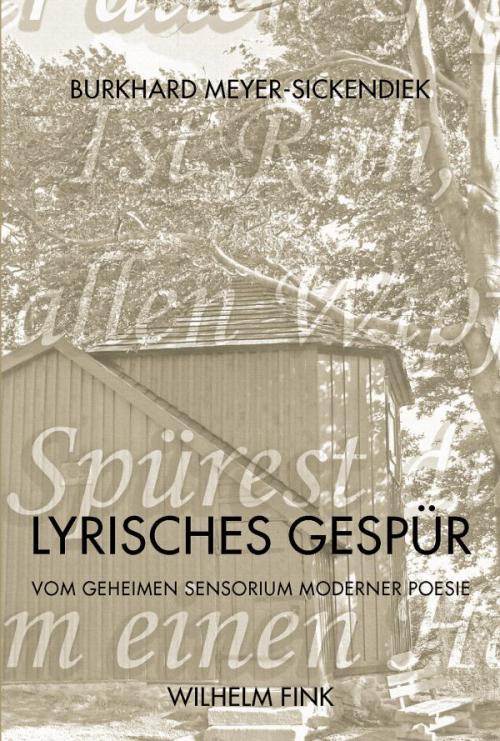Lyrisches Gespür cover