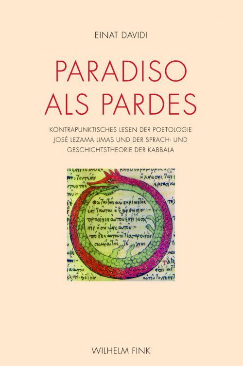 Paradiso als Pardes cover