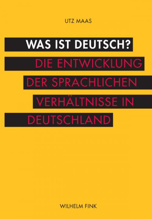 Was ist deutsch? cover