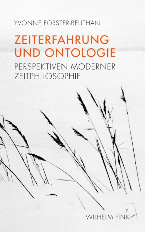 Zeiterfahrung und Ontologie cover