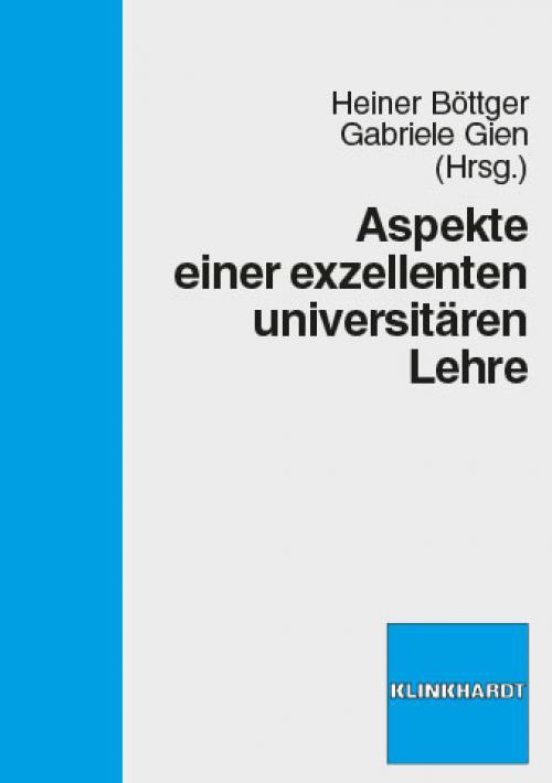 Aspekte einer exzellenten universitären Lehre cover